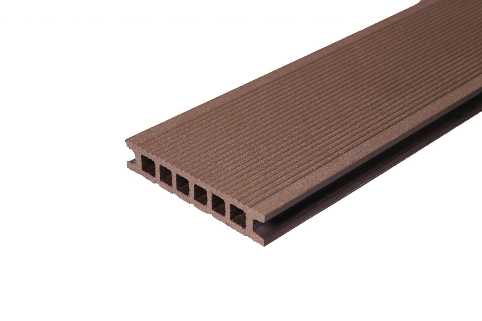 Террасная доска 137х26 — Шоколад